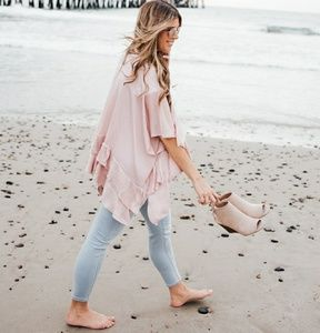 Lauren Conrad Light Wash Skinny Ankle Jeans 12